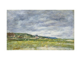 Deauville, Les Dunes Posters by Eugene		 Boudin