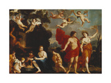 Sine Baccho et Cerere Friget Venus Giclee Print by Giacinto		 Gimignani