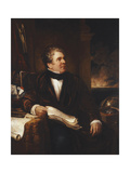 Portrait of Captain Sir John Ross Giclee Print by Benjamin Rawlinson		 Faulkner