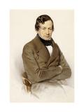 Portrait of Anton Diabelli Giclee Print by Franz Eybl