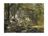 The Woodland Path Giclee Print by Hermann		 Tischler