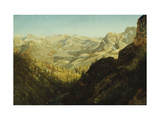 Sierra Nevada Mountains, California Prints by Albert Bierstadt