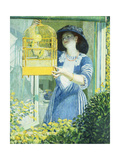 The Open Window Giclee Print by Frederick Carl		 Frieseke