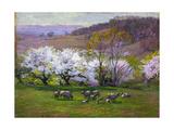 Edward Henry Potthast - Blossom Time Digitálně vytištěná reprodukce