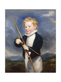 The Young Archer Giclee Print by James		 Ramsay