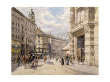The Graben, Vienna Prints by Ferdinand		 Weckbrodt