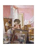 Madam Hessel in her bedroom at Chateau Clayes Giclee Print by Edouard		 Vuillard