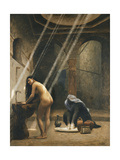 The Moorish Bath (Woman in a Turkish Bath) Giclee Print by Jean Leon		 Gerome