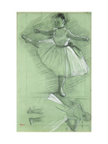 Study of a Dancer Giclee Print by Edgar Degas