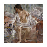 Standing Up Poster by Lovis		 Corinth
