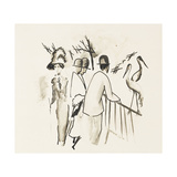 Zoological Garden II Print by August		 Macke