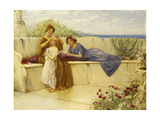 Summertime Giclee Print by Alfred C.		 Weatherstone