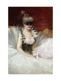 A Masked Beauty Giclee Print by John Henry Witt