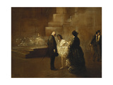 The Dance Lesson Giclee Print by Jean Louis		 Forain