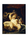 The Infant Hercules Prints by Sir Joshua Reynolds