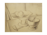 Still-life with Fruit Dish Prints by Juan Gris