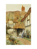 A Quiet Moment Prints by Arthur Claude		 Strachan