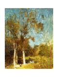 Autumn Trees Giclee Print by Soren Emil Carlsen