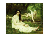 The Heart's Awakening Prints by Francois-Alfred		 Delobbe