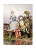 Caught! Giclee Print by Cesare Auguste Detti