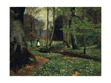 The Woodland Path Prints by Hans Andersen Brendekilde