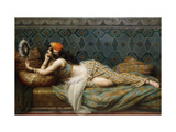 The Odalisque Giclee Print by Adrien Henri		 Tanoux