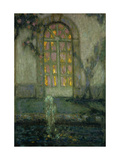 Glass Door onto the Garden Premium Giclee Print by Henri		 Le Sidaner