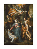 The Adoration of the Shepherds Giclee Print by Hendrik Clerck