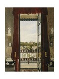 View of Prince Albert's Swiss Cottage Giclee Print by Samuel Dukinfield		 Swarbreck