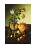 Roses, Peaches and Cherries Giclee Print by Robert Spear Dunning