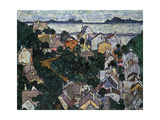 Summer Landscape Art by Egon Schiele