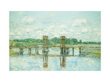 The Toll Bridge, New Hampshire, near Exeter Prints by Childe Hassam