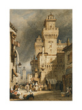 Ferrara, Italy Giclee Print by Samuel Prout