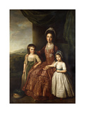 A Group Portrait of Mary, Countess of Darnley and her Children, Lord Clifton and Lady Mary Bligh Prints by Nathaniel		 Dance-Holland