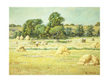 Haying Giclee Print by Wendel Theodore