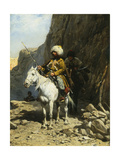 The Cossack Giclee Print by Alfred		 Kowalski