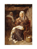 Threading the Needle Giclee Print by John Henry		 Henshall