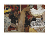 At the Performance Giclee Print by Edouard		 Vuillard