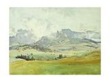In the Dolomites Giclée-Druck von John Singer Sargent