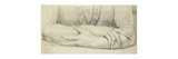 Study of a Woman's Gloved Arms Premium Giclee Print by Henry Fuseli