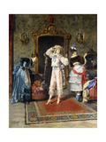 Preparing for the Ball Giclee Print by Ducros Antoine