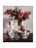 The Famille Rose Coffee Pot Giclee Print by Francis Campbell Cadell