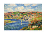 Riviere de St.Maurice, Finistere Giclee Print by Henry		 Moret