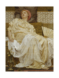 Yellow Marguerites Giclee Print by Albert Joseph		 Moore