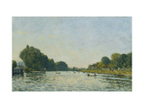 The Seine at Bougival Prints by Alfred		 Sisley