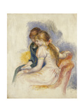 The Lecture Posters by Pierre-Auguste		 Renoir