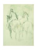 Amazone et Cavalier Prints by Edgar Degas