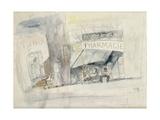 La Pharmacie Giclee Print by Jules Pascin