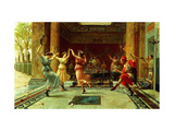 The Roman Dance Giclee Print by Ettore		 Forti