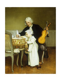 The Music Lesson Giclee Print by Eduard		 Charlemont